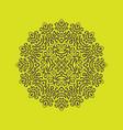 circular seamless pattern vector image