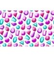 Gemstones Seamless Pattern vector image