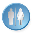 men woman icon vector image