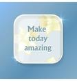 Positive phrase for social media content vector image