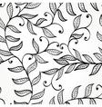 Seamless elegant floral background vector image vector image