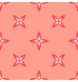 Seamless geometric pattern Pink vector image vector image