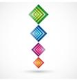 Abstract pyramid vector image vector image