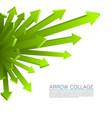 arrow explosion vector image