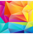 bright origami background vector image vector image