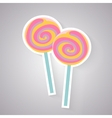 candy Lolly icon vector image