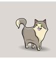 Cat doodle vector image