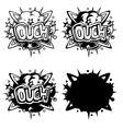 comics icon vector image