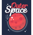 outer space vector image vector image