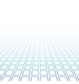 Perspective grid surface vector image