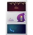 ramadan kareem greeting islamic design symbol vector image vector image