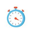 timer clock icon closeup vector image