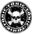 toxic vector image vector image