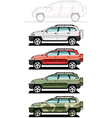 all-road vehicle vector image vector image
