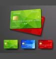 Design of a bank credit debit card