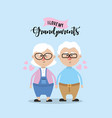 grandparents couple together and cute love vector image vector image