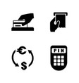 money making simple related icons vector image vector image