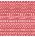 2016 Christmas season hand drawn seamless vector image vector image