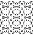 abstract elegant monochrome seamless pattern vector image vector image