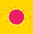 abstract seamless yellow pattern with circle vector image
