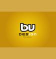 bv b v alphabet letter combination digit white on vector image vector image
