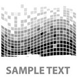 squares texture mono sample i vector image vector image