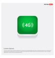 4g icon green web button