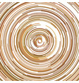 abstract psychedelic background from half rings vector image
