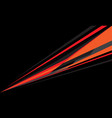abstract red orange grey speed line on black
