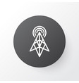 antenna icon symbol premium quality isolated vector image