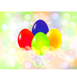 Happy Easter Eggs background vector image vector image