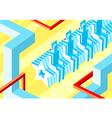 Robot music fans vector image