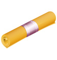 Rolled mat vector image vector image