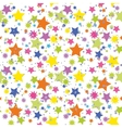 Seamless Background Stars vector image vector image