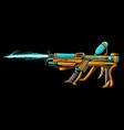 ice gun cartoon vector image