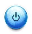 Power button vector image vector image