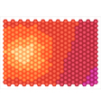 abstract hexagons vector image vector image