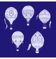Air Balloons Backgr-16 vector image