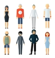 Assorted People on Different Lifestyle vector image vector image