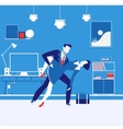 business partners man and vector image vector image