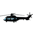 heilicopter vector image vector image
