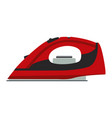 iron ironing icon clothes flat vector image
