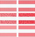 Mosaic Austria flag set vector image vector image