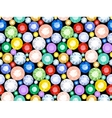 Pattern of precious stones vector image vector image