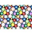 pattern precious stones vector image vector image