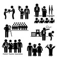 school events - award assembly pledge photo vector image