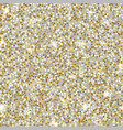 seamless gold glitter background sparkle vector image