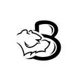 typographic logo premium quality vector image vector image