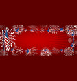 usa background design vector image vector image