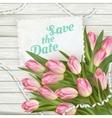 Wedding Invitation Cards EPS 10 vector image vector image